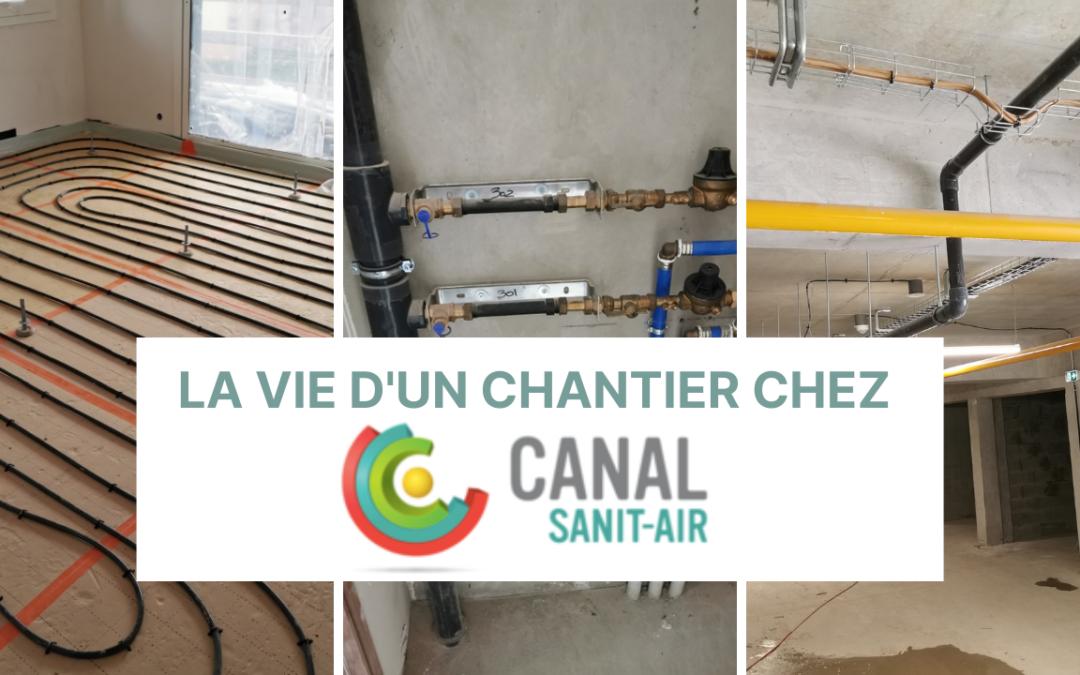 La vie d'un chantier chez Canal Sanit-Air